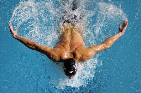стиль плавания - баттерфляй